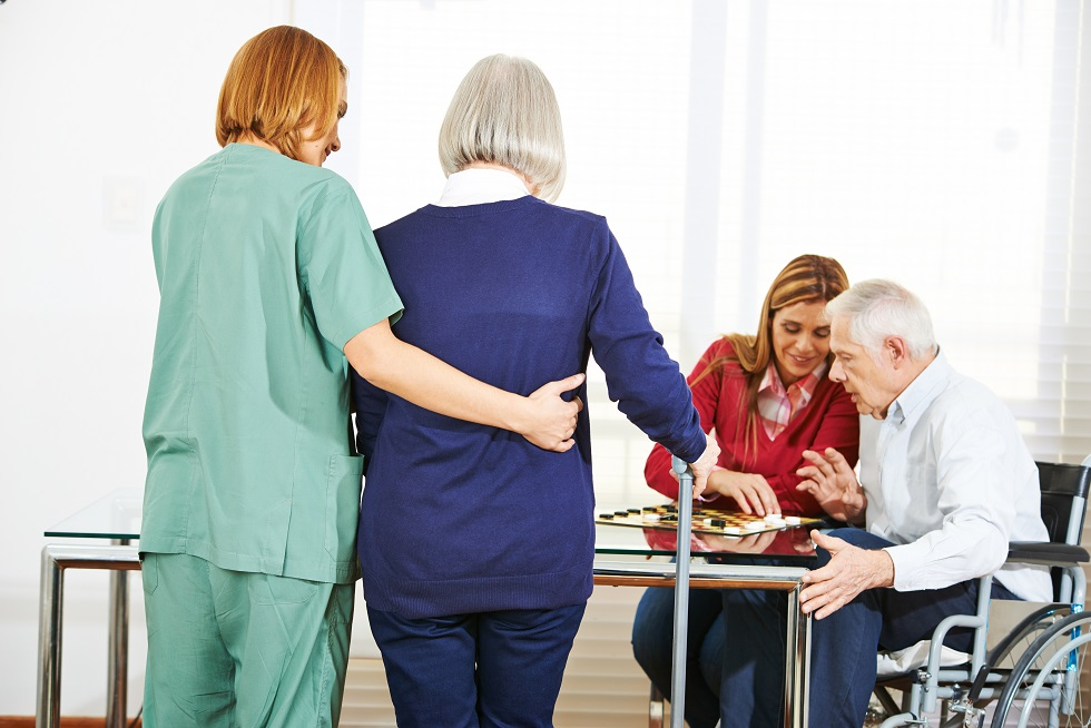 The Risk of Falls in Nursing Homes